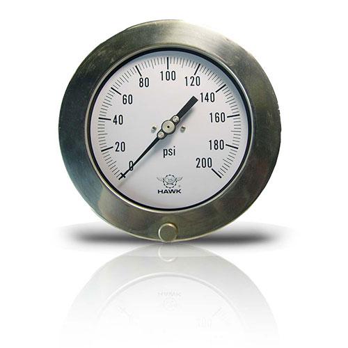 Đồng hồ đo áp suất Hawk Model 15L