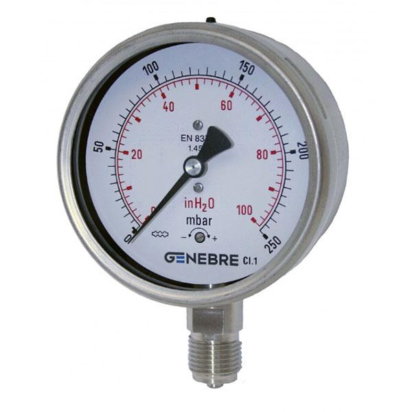 Đồng hồ đo áp suất Genebre Model 8010