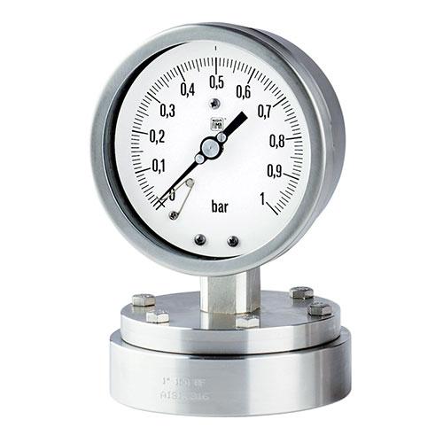 Đồng hồ đo áp suất dạng màng Nouva Fima Model MN12/18-F