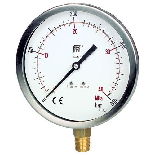 Đồng hồ đo áp suất Nouva Fima Model MGS1