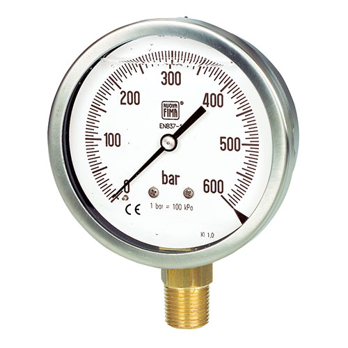 Đồng hồ đo áp suất Nouva Fima Model MGS10