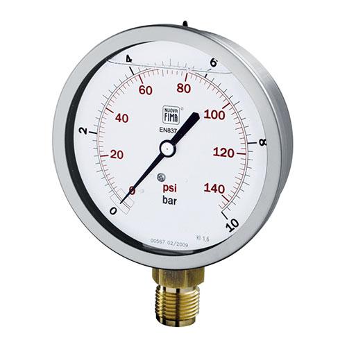 Đồng hồ đo áp suất Nouva Fima Model MS4