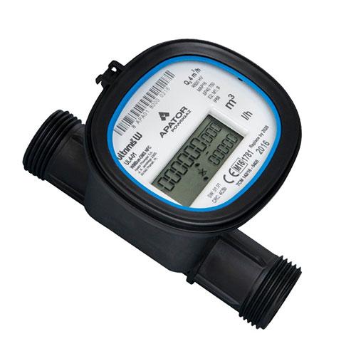 Đồng hồ đo lưu lượng nước siêu âm Apator Model ULTRIMIS W